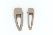 MATTE CLIPS SET OF 2 - STONE - WildLittleFawns
