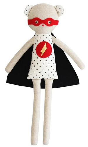 SUPER HERO TED 48CM - WildLittleFawns