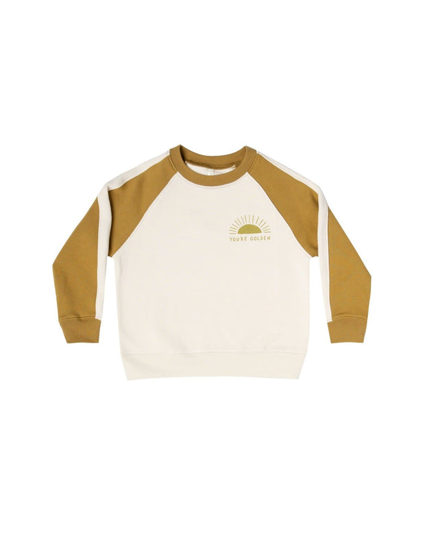 You're Golden Raglan Sweatshirt - Goldenrod - WildLittleFawns