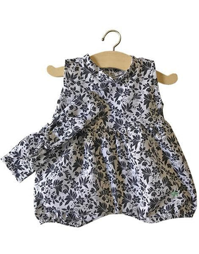 Noa Romper cotton B&W & Headband - WildLittleFawns