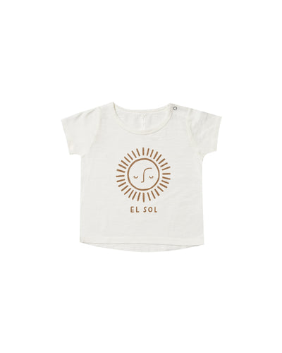 El Sol Basic Tee - WildLittleFawns