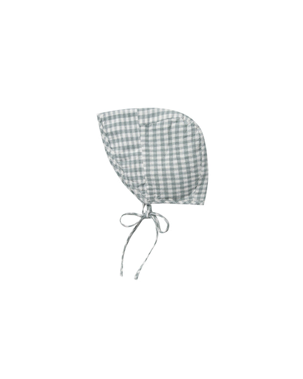 Brimmed Bonnet in Gingham Rylee & Cru