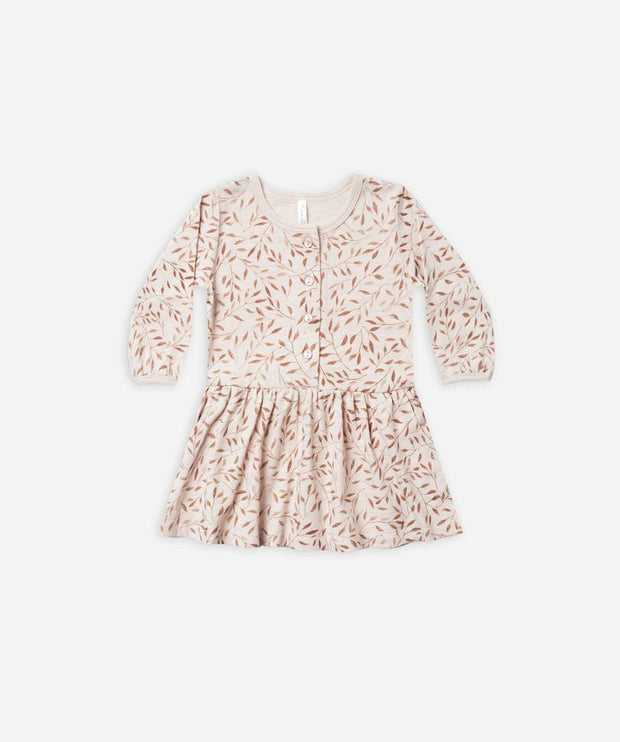 Vines Button Up Dress - WildLittleFawns