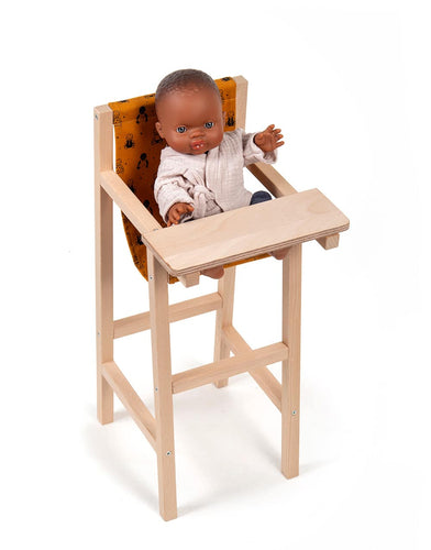 Babies curry high chair - WildLittleFawns