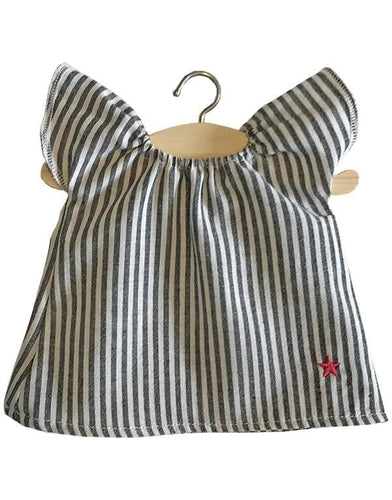 Striped Mary nightgown - WildLittleFawns