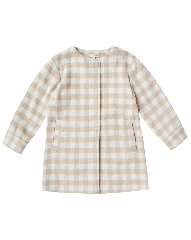 Rylee & Cru No-Collar Coat
