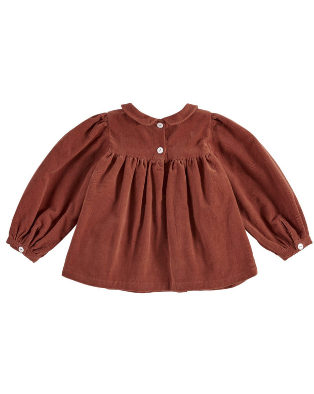 Josephine Blouse- Red