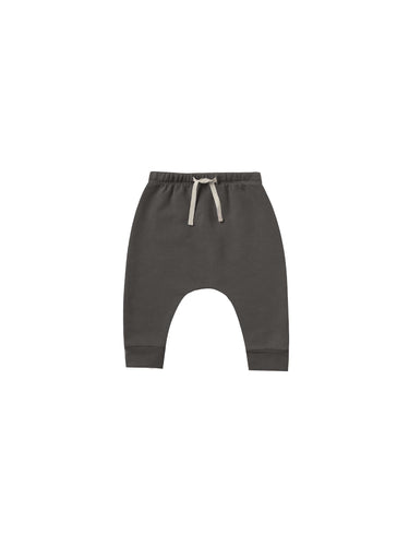 Fleece Sweatpants - Coal - WildLittleFawns