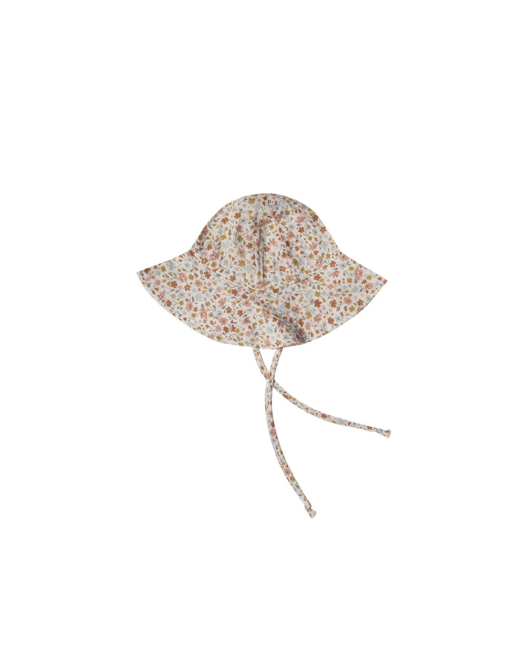 Floppy Sun Hat in Flower Fields - WildLittleFawns