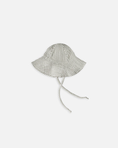 floppy sun hat || olive stripe - WildLittleFawns