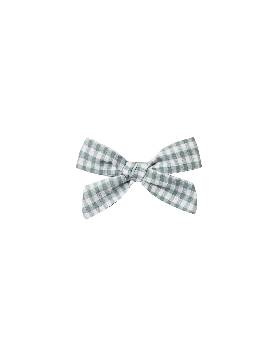 Girl Bow Gingham - WildLittleFawns