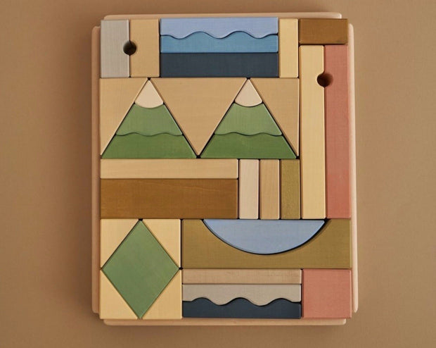 Mountain Building Blocks Set
