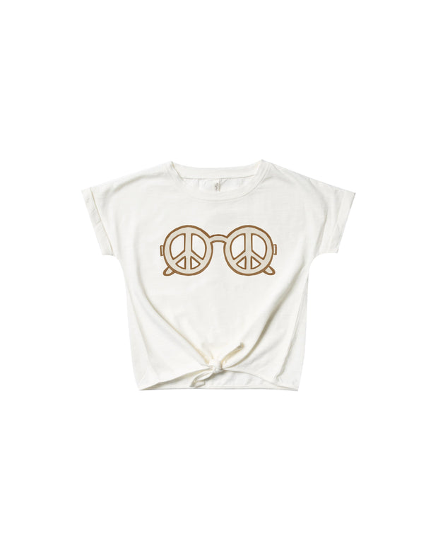 Peace Knotted Tee - WildLittleFawns