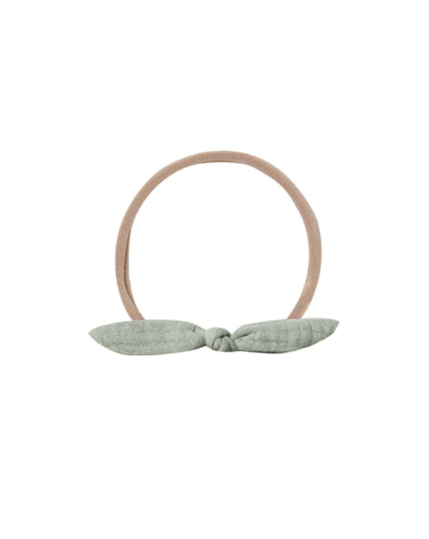 Quincy Mae Little Knot Headband - Sage