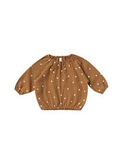 Quincy Mae Cinch Longsleeve Tee - Walnut
