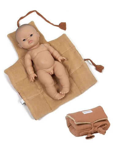 Copy of Minikane Baby Nomadic Arctic Diaper Changing Pad in Sienna - WildLittleFawns