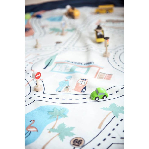L.A. Roadmap Toy Storage Bag