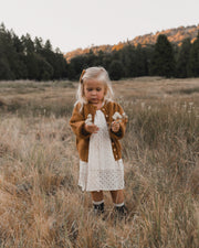 Gretta Baby Doll Dress - Natural Rylee & Cru