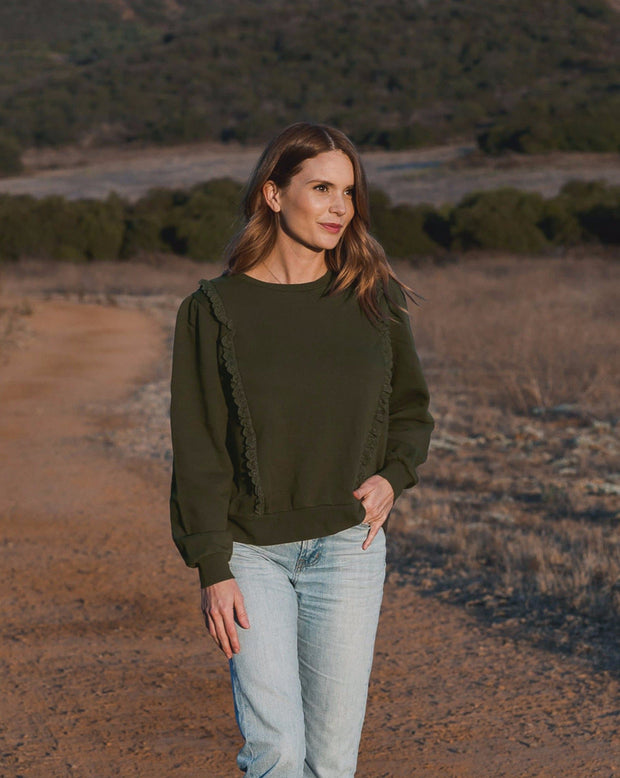 Scarlette Pullover - Forest