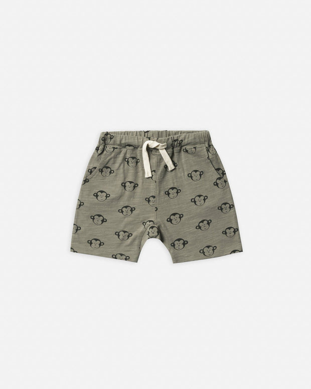 slub short || monkey - WildLittleFawns