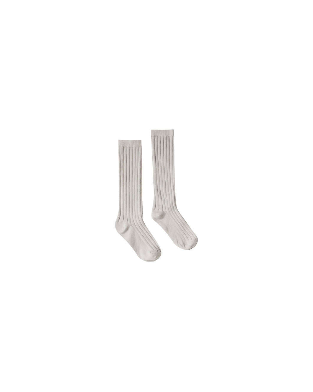 Solid Knee Socks Grey - WildLittleFawns
