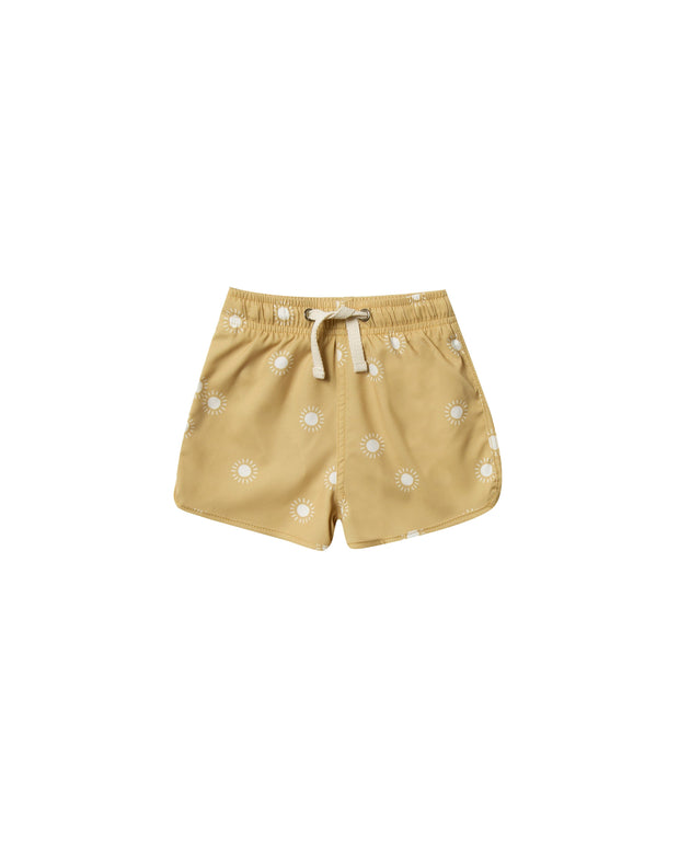 Sunburst Swim Shorts - WildLittleFawns