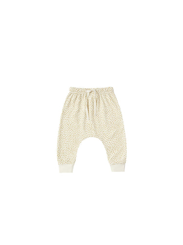 Terry Cloth Sweatpants Terry in Ivory - WildLittleFawns