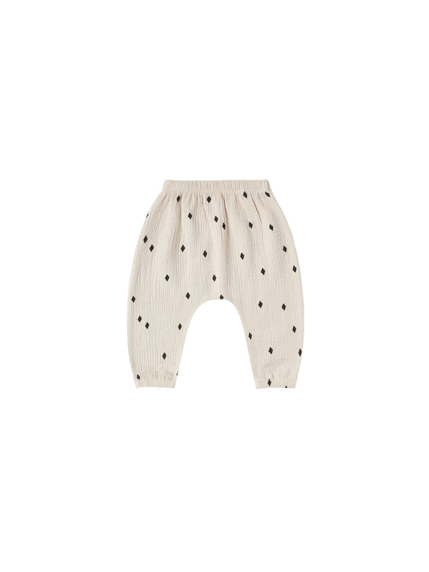Woven Harem Pant in Natural - WildLittleFawns