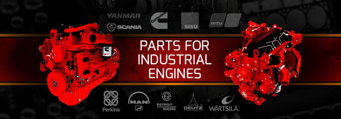 Industrial engine parts