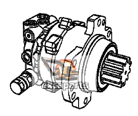 Slew motor 20/925689 JCB 8030ZTS - AFTERMARKET
