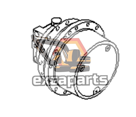 Final drive 21W-60-41202 Komatsu PC78US-6 - AFTERMARKET
