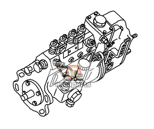 Fuel injection pump 6204-73-1340 Komatsu PC60-7 - AFTERMARKET