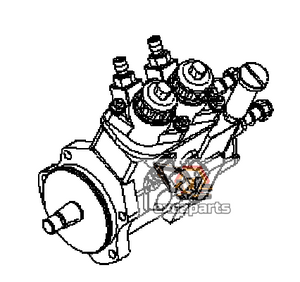 Fuel injection pump 6251-71-1120 Komatsu PC400-7E0 - AFTERMARKET