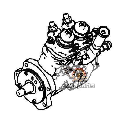 Fuel injection pump 6262-71-1100 Komatsu PC700LC-11 - AFTERMARKET