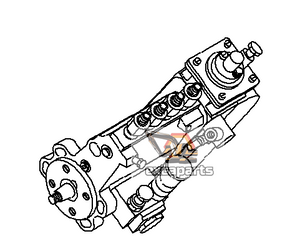 Fuel injection pump 6732-71-1182 Komatsu PW118MR-8 - AFTERMARKET