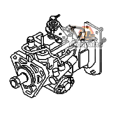 Fuel injection pump 6737-72-1110 Komatsu PW160-7K - AFTERMARKET