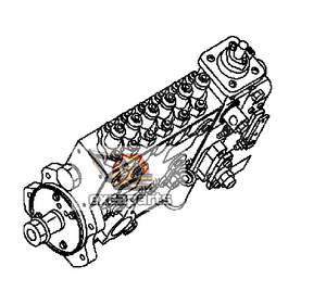 Fuel injection pump 6743-71-1131 Komatsu PC300-7 - AFTERMARKET