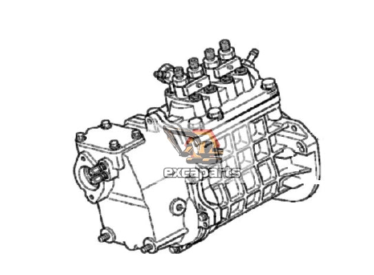 Fuel injection pump 7000721 Bobcat T180 - AFTERMARKET