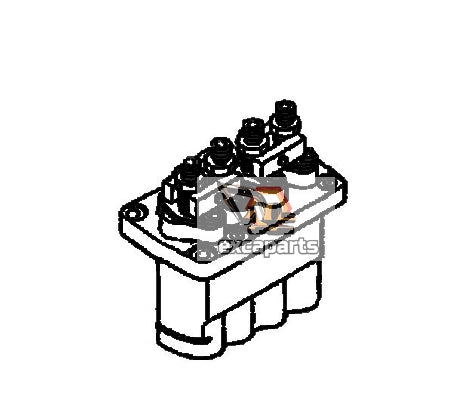 Fuel injection pump F01G09Y035 Bobcat 435 - AFTERMARKET