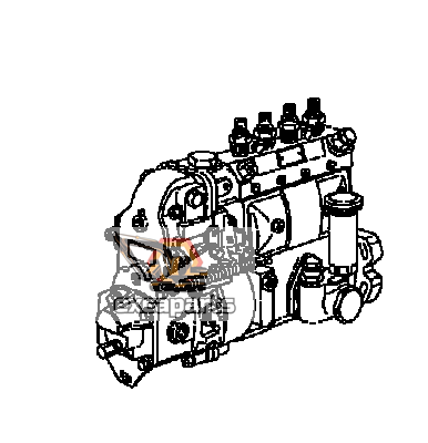 Fuel injection pump YM123912-51010 Komatsu PW110R-1 - AFTERMARKET