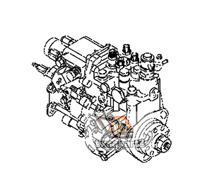 Fuel injection pump YM729642-51340 Komatsu PC45R-8 - AFTERMARKET