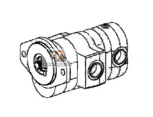 Gear pump 6683236 Bobcat S220 - AFTERMARKET