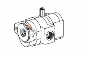 Gear pump 6684387 Bobcat S220 - AFTERMARKET
