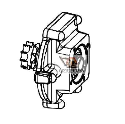 Hydraulic drive motor mount 7218166 Bobcat S175 - AFTERMARKET