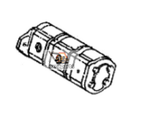 Hydraulic gear pump 6665107 Bobcat E325 - AFTERMARKET