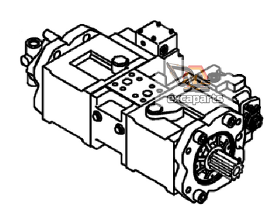 Hydraulic pump 14611320 Volvo EC140CL - AFTERMARKET