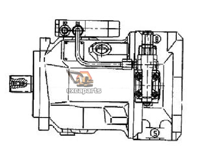 Hydraulic pump 5364662488 Bobcat 442 - AFTERMARKET