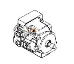 Hydraulic pump 6688051 Bobcat E425 - AFTERMARKET