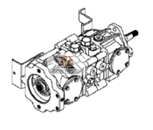 Hydraulic pump 6692813 Bobcat S330 - AFTERMARKET