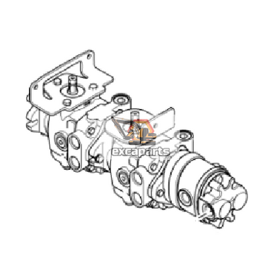 Hydraulic pump 7001032 Bobcat S100 - AFTERMARKET